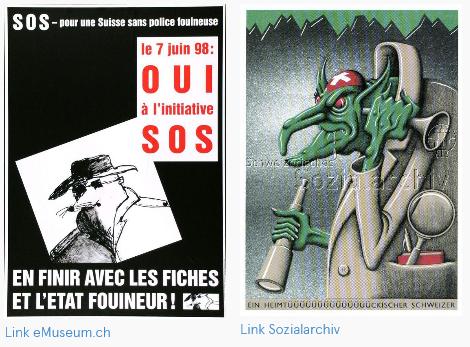 Volksinitiative «S.o.S. - Schweiz ohne Schnüffelpolizei»